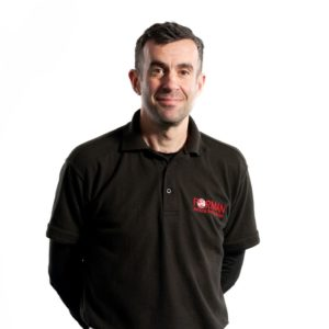 Richard Oliver, Warehouse Manager for Forman Vehicle Services