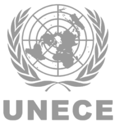 United Nations Economic Commission for Europe UNECE Acoustic Vehicle Alerting System Logo