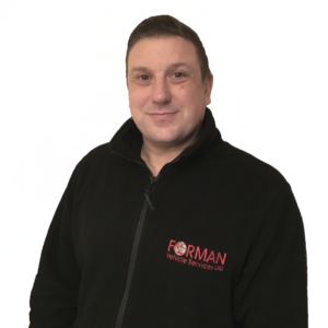 James Kemp, Field Engineer for Forman Vehicle Services