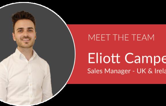 Header Image - Meet the team - eliott campey photo and job title